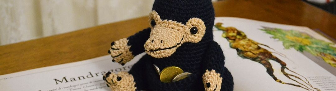 You are currently viewing Tuto crochet : le Niffleur des Animaux Fantastiques
