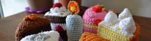 La Dînette de Lalu : Gâteaux au crochet