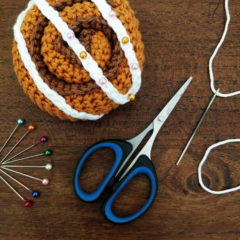 Accessoires de couture pour le crochet