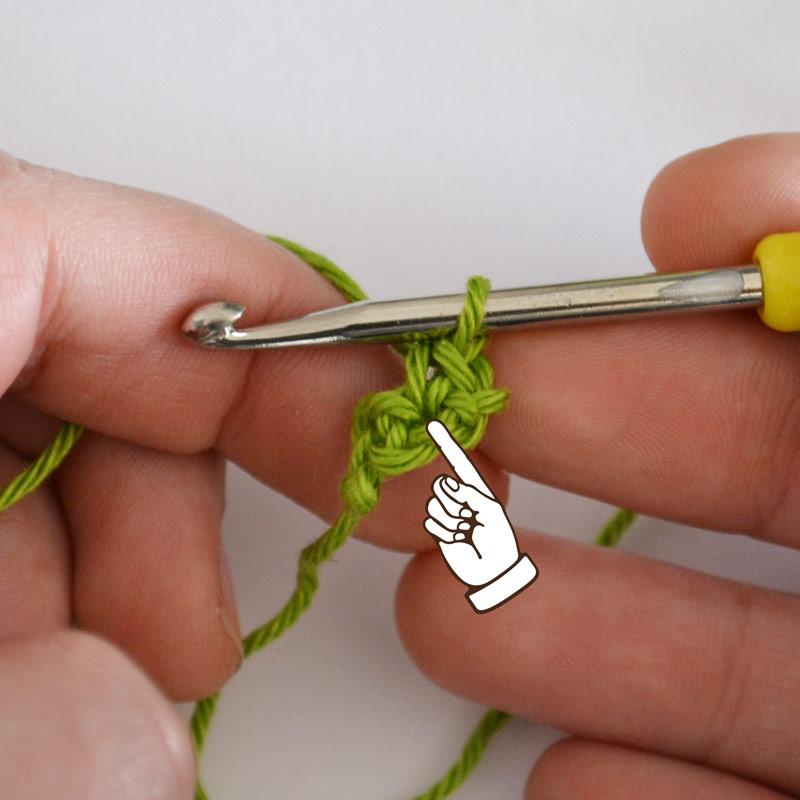 L'Univers de Lalu, apprendre à faire une augmentation au crochet