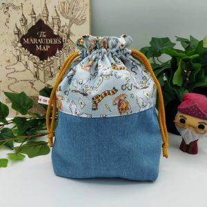 L'Univers de Lalu, sacs à projet Harry Potter crochet et tricot