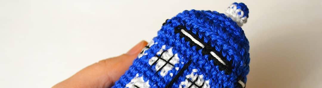 You are currently viewing Un voyage incroyable de douceur avec le tuto crochet du Tardis