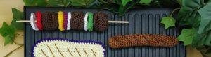 Read more about the article Brochettes au crochet : une dînette super gourmande pour l'été