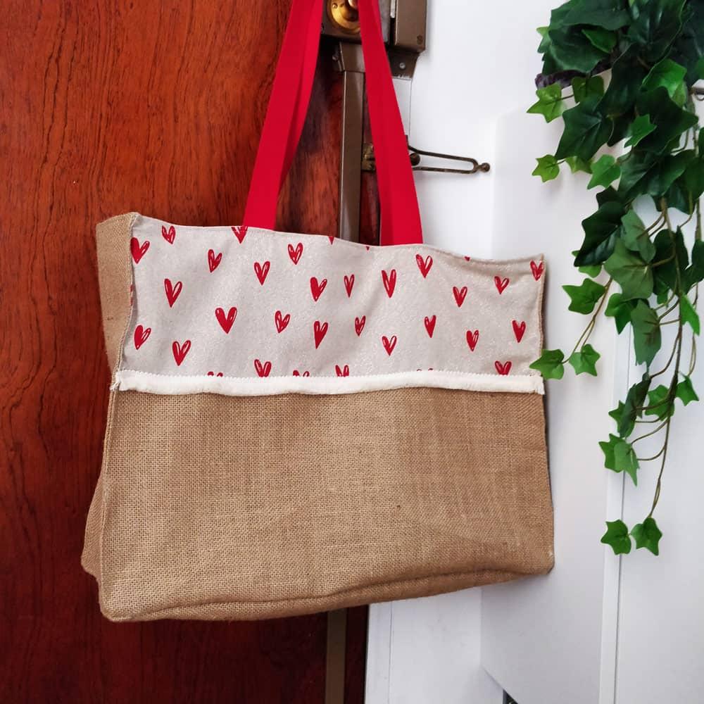 Coudre un sac cabas chic et rustique