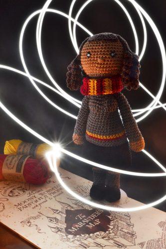 Le Journal de Lalu, patron crochet Hermione Granger