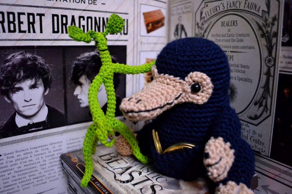 Le Journal de Lalu les Animaux Fantastiques Pickett le Botruc de Nobert Dragonneau au crochet
