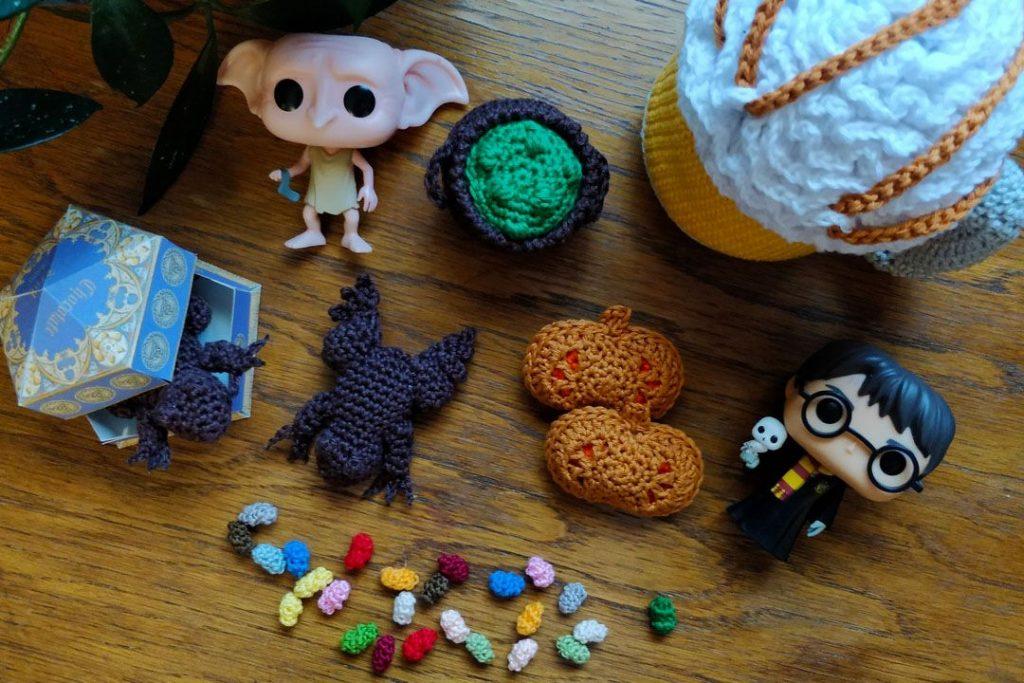 Le Journal de Lalu, blog crochet, La dînette de la Lalu chez Harry Potter